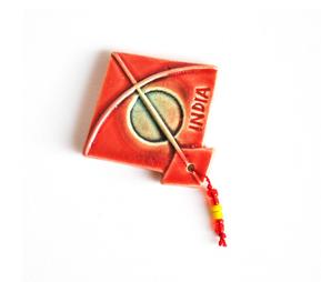 Magnet - Kite - Red