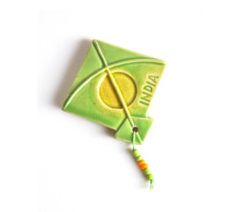 Magnet - Kite - Green