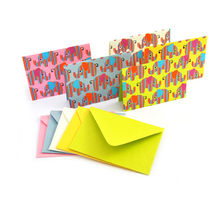 Notecards - Elephants
