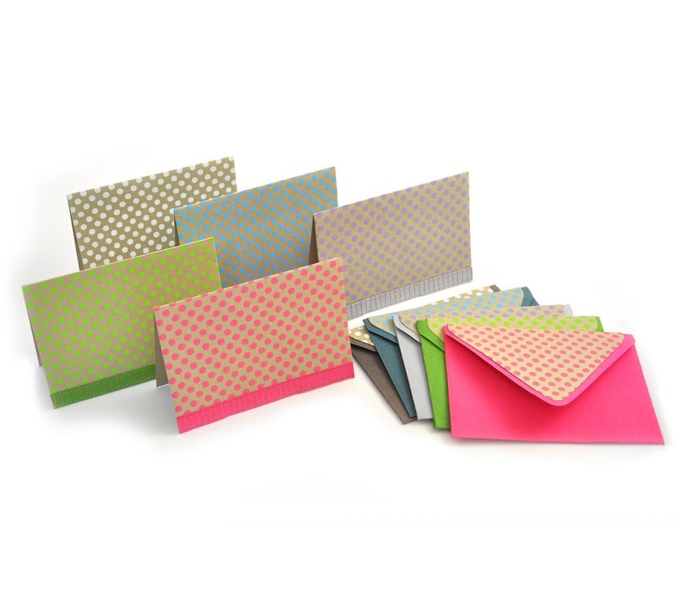 Notecards- Polkadots