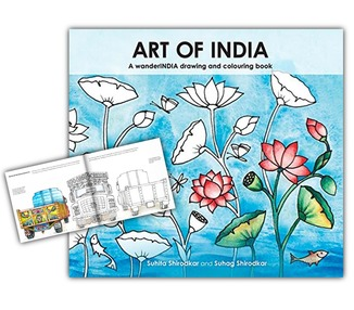 Coloring Book - Art of India