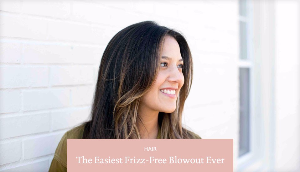The-easiest-frizz-free-blowout-ever