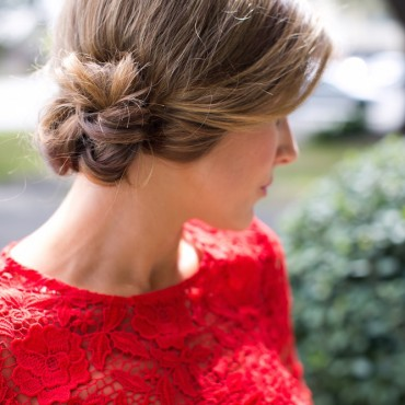 Martha Lynn Kale and Living Proof - Simple Updo 6