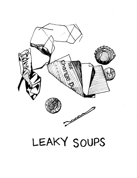 Leaky soupsshirt