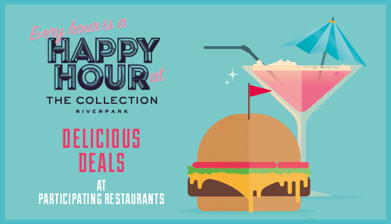 Your Guide To Happy Hour At The Collection The Collection Riverpark