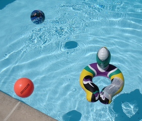 Child's play in the pool medium