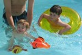 Children enjoying the pool small