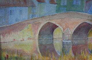 Bridge at Semur medium