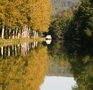 Autumn view of Canal and Boat small