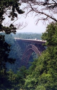 new river gorge bridge, west virginia