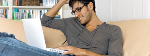 CTU Online Student Studying