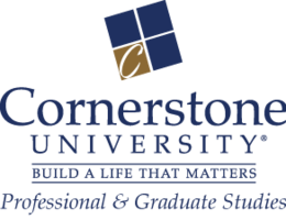 Cornerstone University Professional &amp; Graduate Studies