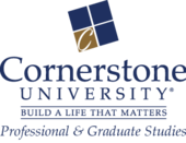 Cornerstone University Professional & Graduate Studies