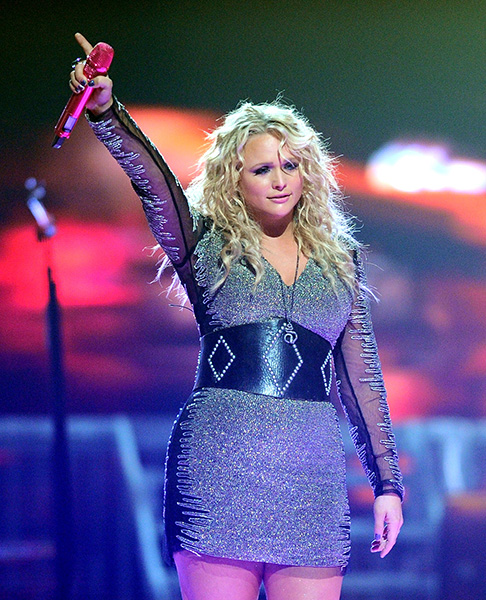 Miranda Lambert - Country's blond bada$$ will be bringing you tales of revenge on her Locked & Reloaded tour.