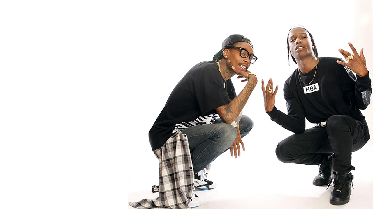 Wiz Khalifa and A$AP Rocky Exclusive   Wiz & Rocky talk ...