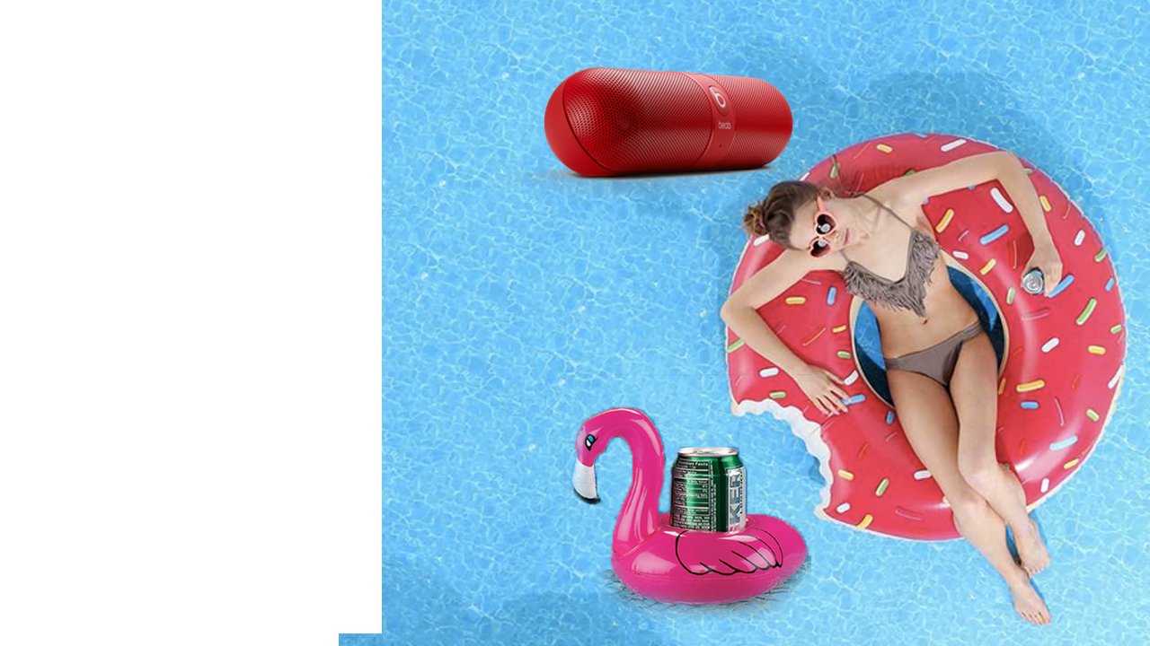 Beats Pill portable speaker: Does swimming without a soundtrack make you feel feverish? Take one and call us in the morning.