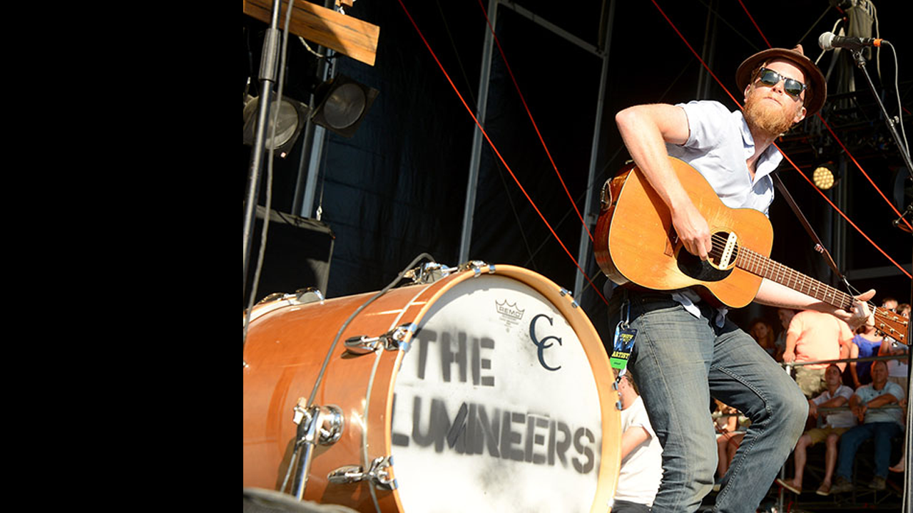 The Lumineers at the 2014 Firefly Music Festival