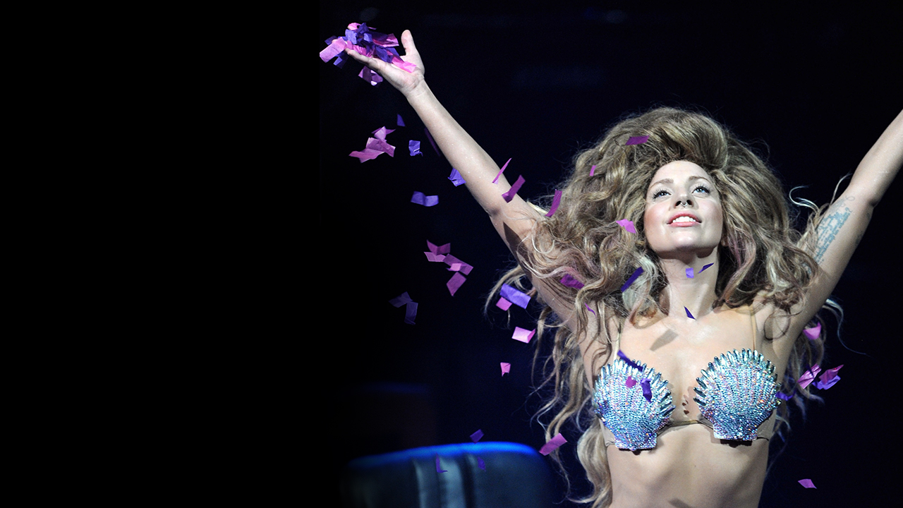 She performed the original artRAVE in New York as part of the ARTPOP album release.