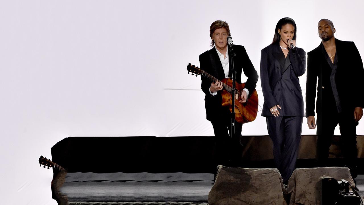 Rihanna, Kanye West, Paul McCartney: FourFiveSeconds