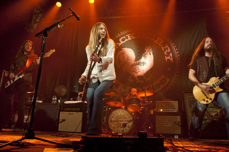 Blackberry Smoke - 2013 is poised to be the breakout year for the veteran Southern Rock road band. Get on the bandwagon before they become too hot to handle!