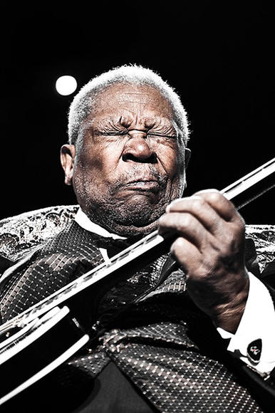 BB King: He and Lucille have been waking up this morning and finding the thrill gone for well over 60 years, but for us the thrill REMAINS, yes it does.