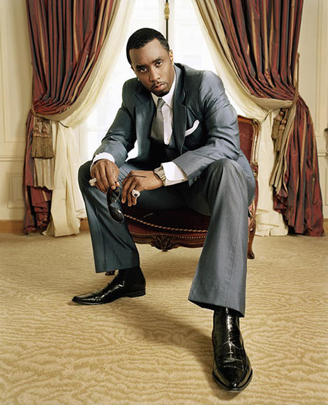 Sean Combs: Puff Daddy, Puffy, P. Diddy, Sean John—whatever he calls himself, it stands for serious entrepreneurial savvy. The power behind Biggie. Nuff said.