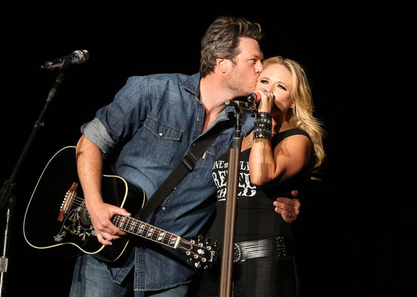 MY LOVE: Miranda Lambert and Blake Shelton