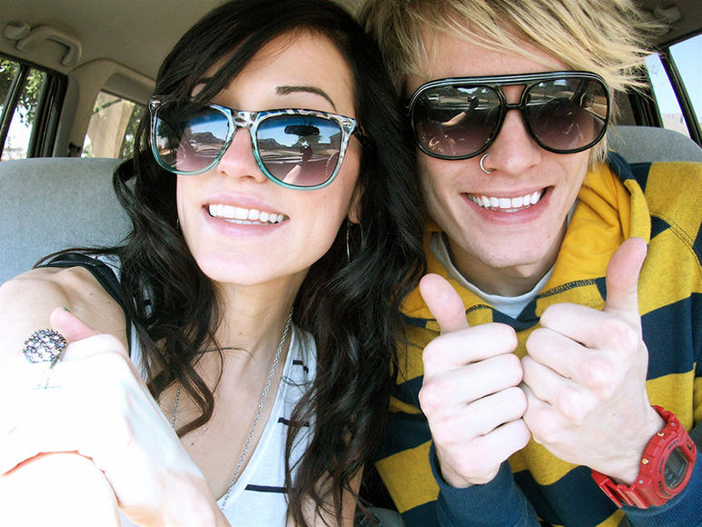 ONLY YOU: Mindy White of States and Kyle Burns of Forever The Sickest Kids