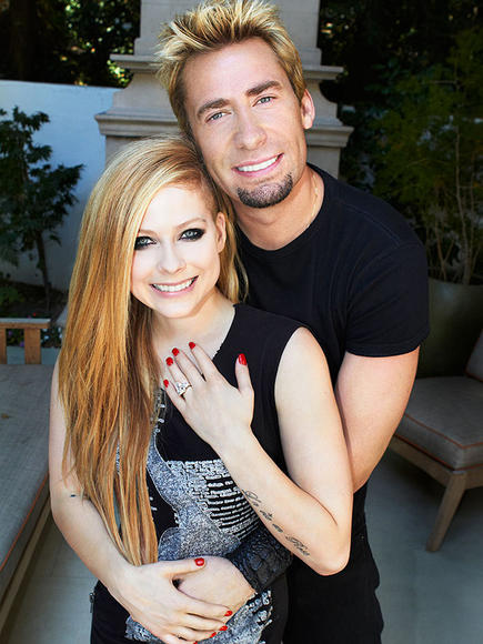 WHY NOT: Avril Lavigne & Chad Kroeger of Nickelback