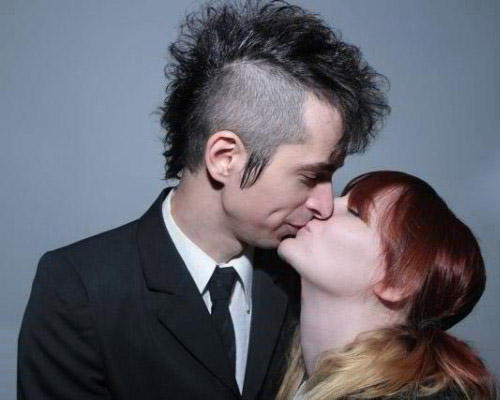 SOUL MATE: Chantal Claret and Jimmy Euringer of Mindless Self Indulgence
