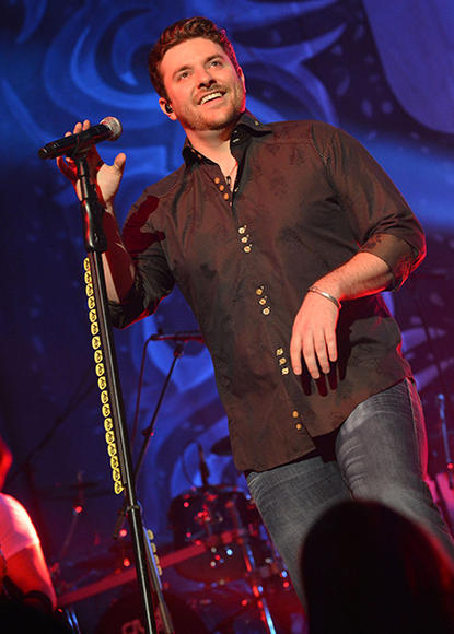 Chris Young – The Nashville Star winner performs up to 150 shows a year—join him in action!