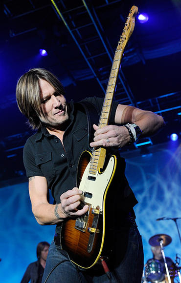 Keith Urban - A household name to even non-country fans, Urban is hailed as one of the best reasons in the world to attend a live concert.