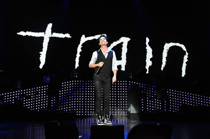 Train's summer plans are set--they'll be on tour with The Script and Gavin DeGraw