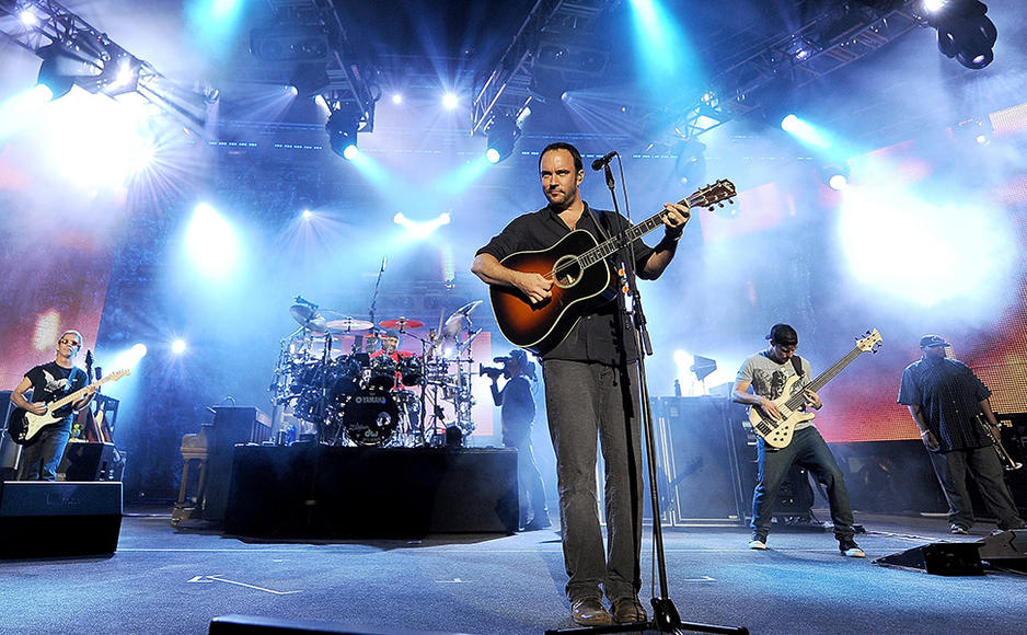 Dave Matthews Band - You'll get a little bit of funk, a little bit of jazz, and lyrical loops that so perfectly express your feelings.