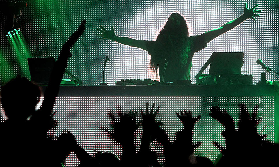 Bassnectar - Bassheads can vouch that the electro DJ (AKA Lorin Ashton) throws a raging party... AND he's anti-scalper. Whatta guy!
