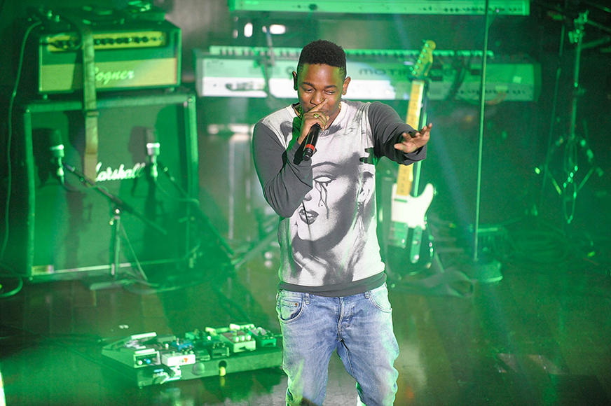 "Kendrick Lamar - The ""Poetic Justice"" rapper is often compared to his idol, Tupac. No hologram here—the artist formerly known as K.Dot is the REAL DEAL."
