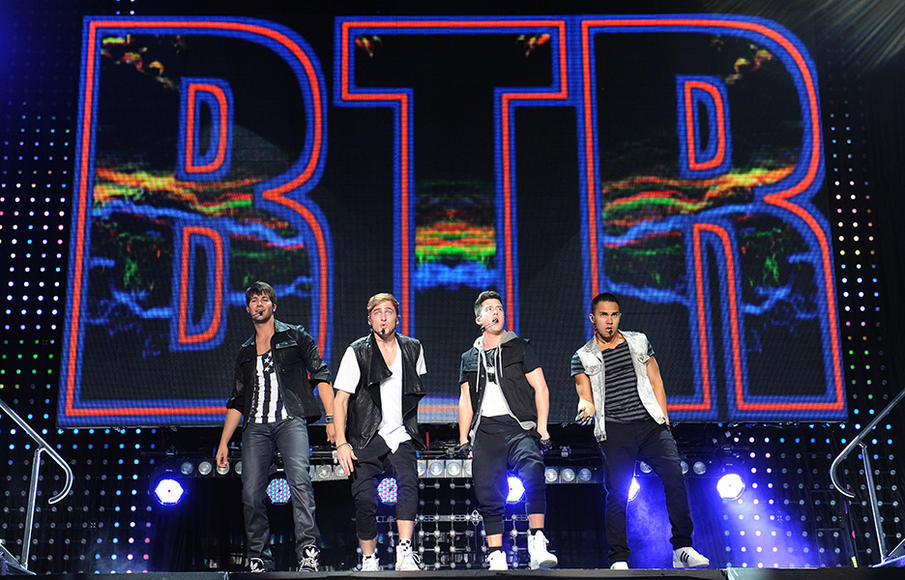 Big Time Rush - Their summer break tour will be rushing through a town near you starting June 21st.