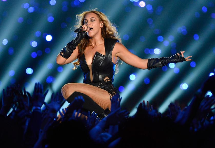 Beyonce – Bow down to Queen Bey AKA Mrs. Carter. Who run the world? SHE does.