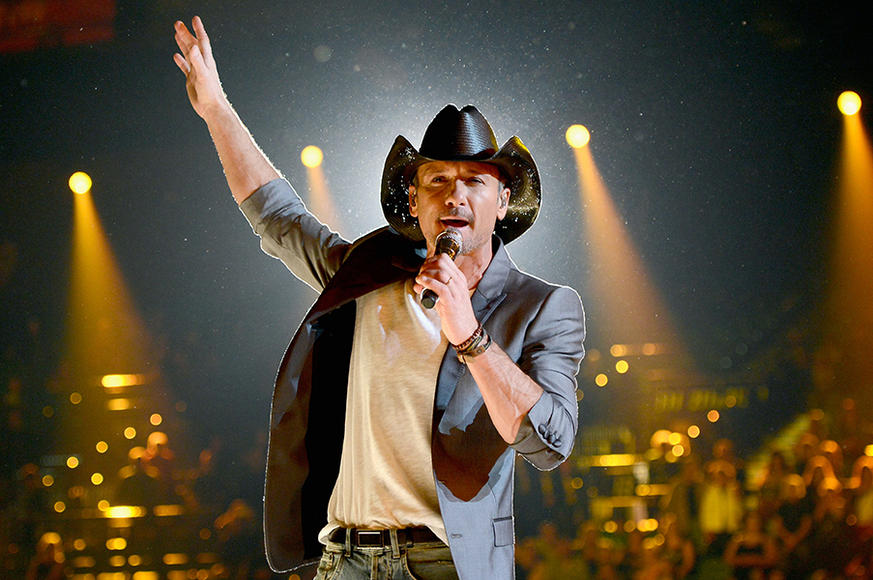 Tim McGraw will be making your summer just a little hotter with his Two Lanes of Freedom tour.