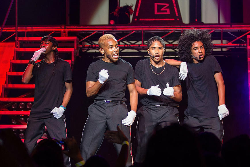 Mindless Behavior (ON TOUR) - These young'uns spent two years in vocal and dance training before unleashing nary a single unto the world. It's paid off so far, as they've scored opening slots for Backstreet Boys, Justin Bieber and Janet Jackson.