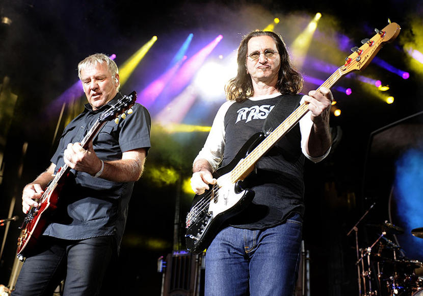 Rush - Remember, Rush might seem old, but they're Canadian, and in Canada they use the Metric System.  That's how it works, right?