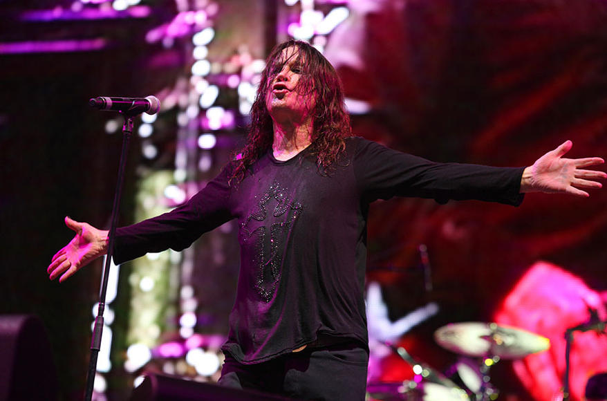 We wonder if it's technically okay for Ozzy to call himself the Lord of Darkness when he's in bed by five o'clock every day.