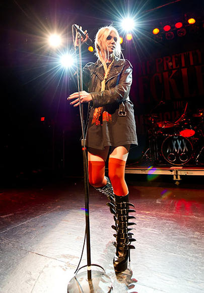"""There was this boy who tore my heart in two I had to lay him eight feet underground"" - The Pretty Reckless, Goin Down"
