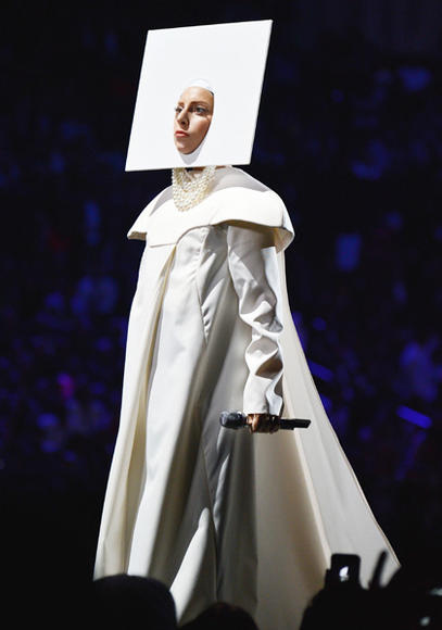 Lady Gaga is a blank slate! No, she's a nun. She's a cloud? We don't know. We give up.