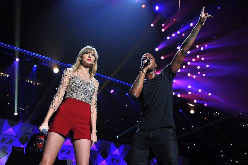 Taylor Swift and B.O.B.
