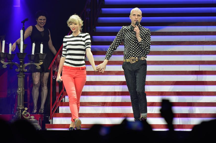 Taylor Swift and Neon Tree's Tyler Glenn