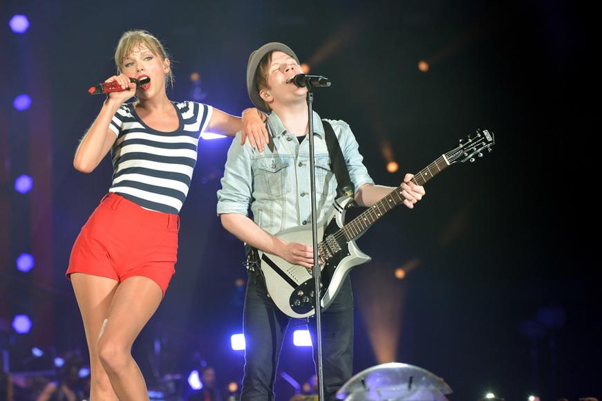 Taylor Swift and Fall Out Boy's Patrick Stump