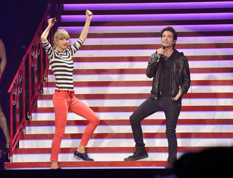 Taylor Swift and Train's Pat Monahan