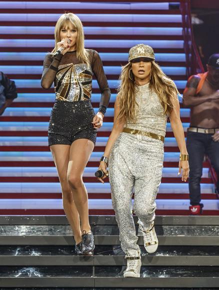Taylor Swift and Jennifer Lopez