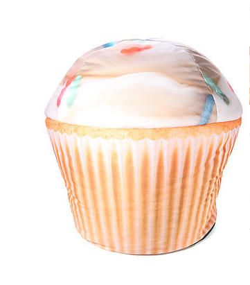 Sweet Cheeks cupcake beanbag: Decorate their room like Katy's Candyland-themed California Dreams tour.